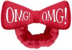 Бант-Повязка Double Dare для фиксации волос во время косметических процедур Omg! Hair Band-Red Красный 1 шт (812772017908)