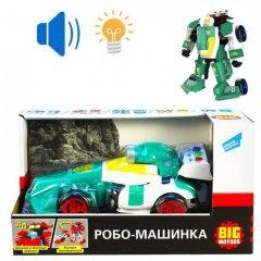 Машинка Big Motors Робо-машинка Гоночная Зеленая (D622-H045A) (4812501162967)