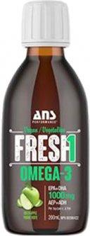 Жирные кислоты ANS Performance Fresh Веганская Омега-3 200 мл со вкусом Зелёное яблоко (659153876248)