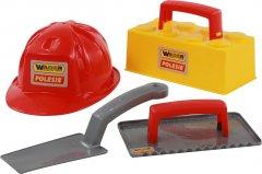 Набор каменщика №3 Wader (Полесье) Construct 4 элемента (50519) (4810344050519)