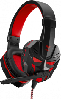Наушники Aula Prime Basic Gaming Headset Black-Red (6948391232652)
