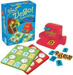 Логическая игра ThinkFun Zingo Время (7705) (019275077051)