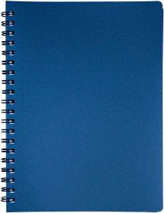 Тетрадь Buromax Status 80 листов А4 в клетку пластиковая обложка Графит (BM.24452153-50)