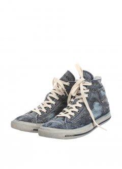 Кеди чоловічі Diesel джинсовий 42 Y00023P0610T6071