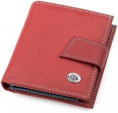 Кошелек ST Leather Accessories 18338 Бордовый