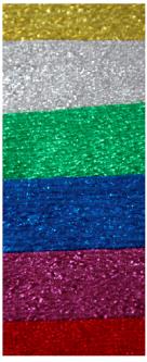 Набор креповой, металлизированной бумаги INTERDRUK из 6 штук 100х50 см (031173)
