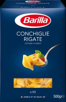 Макаронные изделия Barilla Конкилье Ригате 500 г (8076802085936)