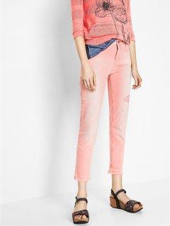 Оригінальні рожеві джинси Desigual 73P2JC9 XS (79289XS) Рожевий