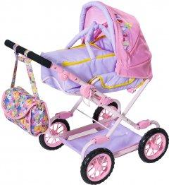 Коляска для куклы Baby Born Делюкс S2 складная, с сумкой (828649)