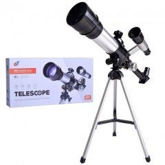Телескоп дитячий FG Toys C2158 зі штативом висотою 36 см Чорний/Сірий