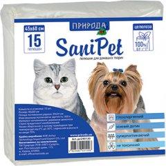Пеленки для собак Природа 45x60 см 15 шт (4823082401208)