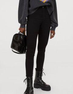Джинси H&M Ж1053925 (07060162) колір чорний XXL