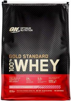 Протеин Optimum Nutrition 100% Whey Gold Standard 4.54 кг Delicious Strawberry (748927028737)