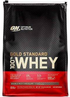Протеин Optimum Nutrition 100% Whey Gold Standard 4.54 кг Double Rich Chocolate (748927028713)