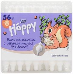 Палочки гигиенические Bella Baby Happy для детей 64 шт (5900516402273)