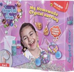 Набор для творчества Paulinda Crystal glue DIY Серьги 6 в 1 (PL-199610) (6930518996981)