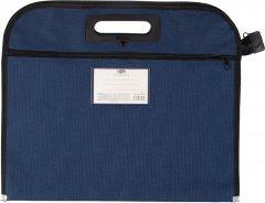 Папка-портфель Centrum A4 Синий с внешним карманом (83475) (4030969834756)