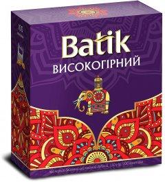 Чай черный байховый Batik Высокогорный пакетированный 1.5 г х 100 шт (4820015831392)
