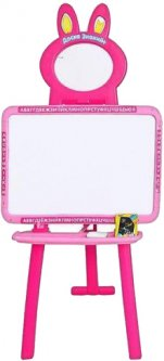 Мольберт 3в1 Bambi 0703 UK-ENG Pink (0703 UK-ENG pink) (6903122905014)