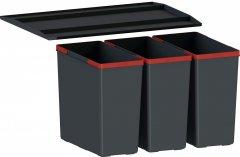 Система сортировки отходов FRANKE EasySort 600-3-0 (121.0494.192) черный