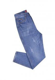 Джинсы Relucky love jeans И-8003 27 Синий