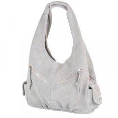Сумка-баул (хобо) Laskara LK-DM230-grey