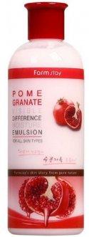 Осветляющая эмульсия для лица Farmstay Pomegranate Visible Difference Moisture Emulsion с гранатом 350 мл (8809426957309)