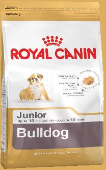 Royal Canin Bulldog Junior для щенков Бульдога до 12 месяцев 12 кг