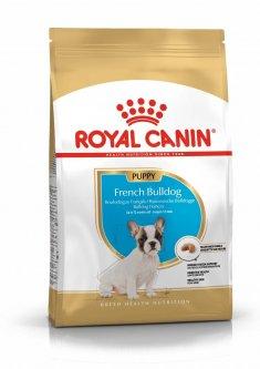 Royal Canin French Bulldog Puppy для щенков породы французский бульдог в возрасте до 12 месяцев 1 кг