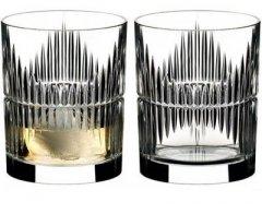 Hабор стаканов Riedel Tumbler Collection Shadows для виски 320 мл х 2 шт (0515/02 S5)