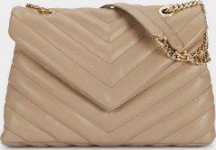 Женская сумка Parfois 185702-TU Бежевая (5606428939400)
