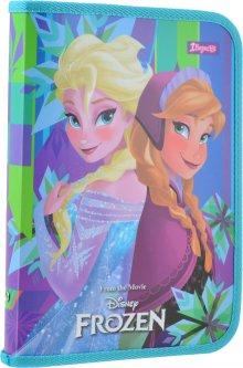 Папка для тетрадей 1 Вересня пластиковая на молнии В5 Frozen для девочек (491580) (5056137198801)