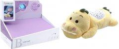 Мягкая музыкальная игрушка с проектором Funmuch Динозаврик (FM666-11)