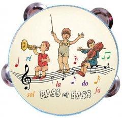 Музыкальная игрушка Bass & Bass Тамбурин (В81882) (3457019606551)