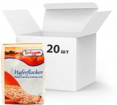 Упаковка хлопьев Bruggen овсяных Особо нежные 500 г х 20 шт (4008713706857)