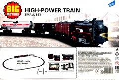 Игровой набор Big Motors Железная дорога с 3 товарными вагонами (19033-4-2) (4812501095371-2)
