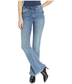 Джинси Sam Edelman Stiletto High-Rise Bootcut Jeans in Wetherly Blue, Універсальний (10319066)
