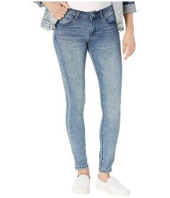 Джинси Bebe Rhinestone Logo Skinny Jeans in Axis Wash Unknown Color, 4XL (US 27) (10319693)