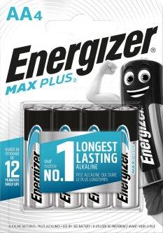 Батарейки Energizer AA Max Plus 4 шт (E301323603)