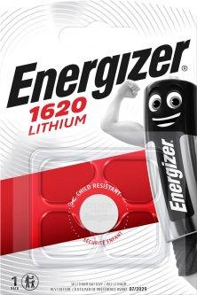 Батарейка Energizer CR1620 Lithium 80x120 1 шт (E300844002)