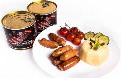 Охотничьи колбаски Кузьмичи в жире 525 г (4820105100865)