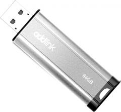 AddLink U25 64GB USB 2.0 Silver (ad64GBU25S2)