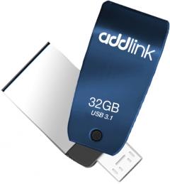 AddLink T55 OTG 2in1 32GB USB 3.1 + Micro USB Blue (ad32GBT55B3)