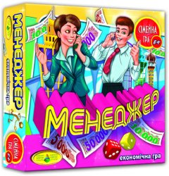 Настольная игра Київська Фабрика іграшок Менеджер (4820121182203)