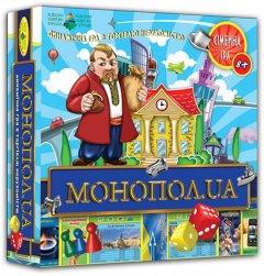 Настольная игра Київська Фабрика іграшок Монопол.UA (4820121182210)
