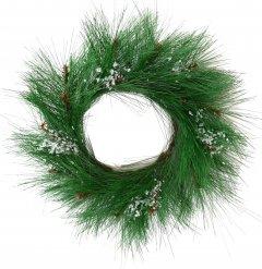 Венок декоративный Новогодько (YES! Fun) Снеговичок 15 см (903878)
