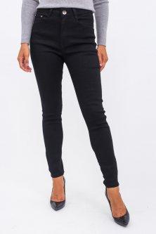 Классические прямые джинсы - черный цвет, XXL (44) XXL (44)