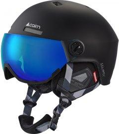 Шлем горнолыжный Cairn Eclipse Rescue 59-61 Mat black-blue ium (0605861-102-59)