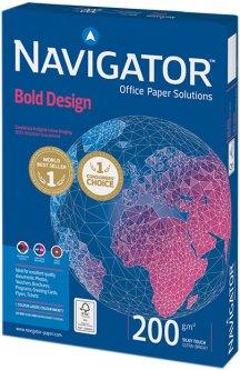Бумага Navigator Bold Design А4 200 г/м² класс А 150 листов Белая (5602007989477)