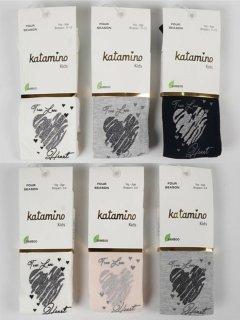 Колготки Katamino K32189 134-146 см 6 шт. Асорті (8680652384530)